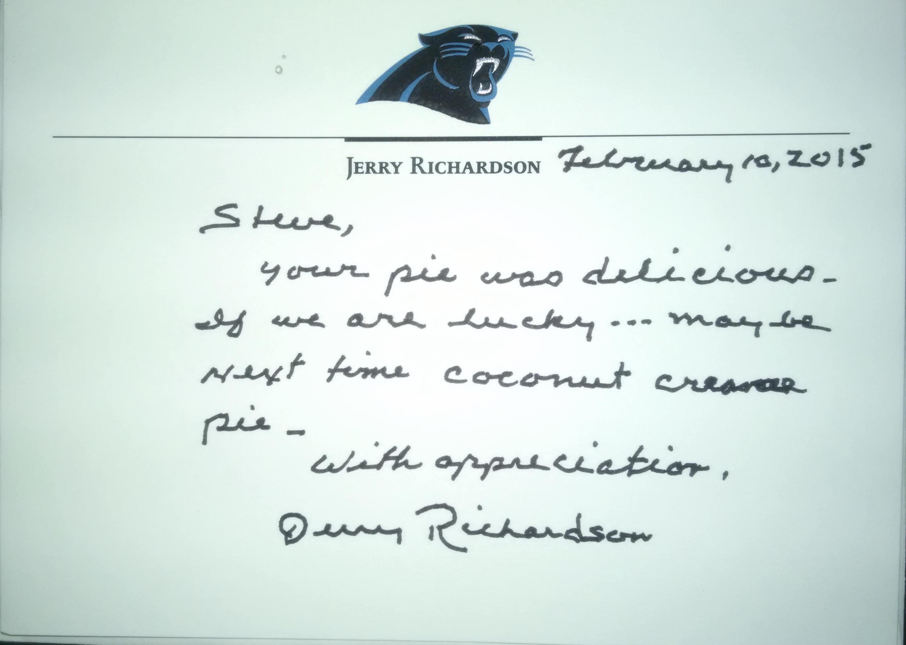 Richardson Letter